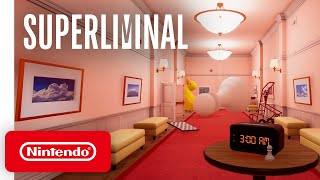 Superliminal - Release Date Trailer - Nintendo Switch