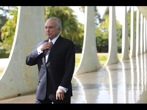 Crazy! GHOSTS Run Brazil's President Out of Presidential Palace