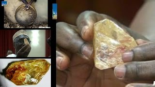 Discovers a 706 Carat 10th Largest Diamond : Worth more than £50 MILLION : Sierra Leone mine : Kono