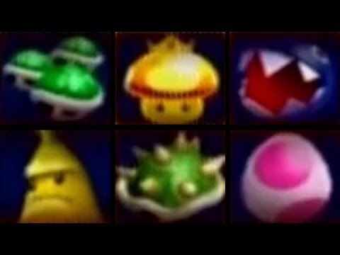 Mario Kart Double Dash All Special Items