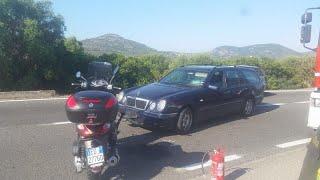 Incidente stradale in Sardegna per George Clooney