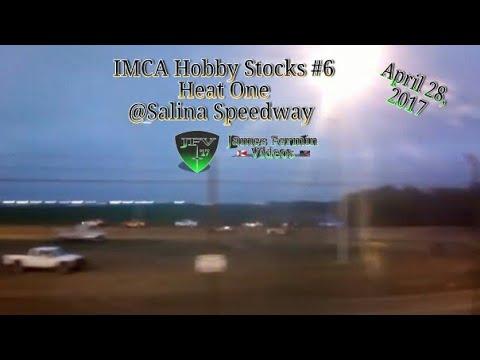 IMCA Hobby Stocks #5, Heat, Salina Speedway, 2017