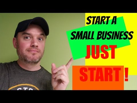 How to Start a Business Or Any Passion  JUST START NO MATTER WHAT