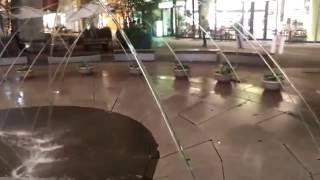 Laminar flow fountain - Kitakyushu Japan