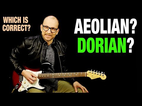Aeolian vs Dorian - Which Is Correct?
