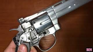 up тюнинг пневматического револьвера gletcher sw r8