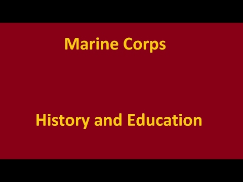 Marine Corps History and Education: The Marine Corps' Founding