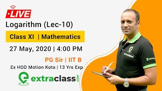 Logarithmic Equations by PG Sir