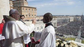 Đức Thánh Cha công bố sứ điệp Phục Sinh và phép lành toàn xá