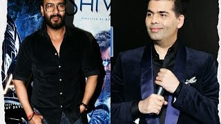 OMG! Ajay Devgan Gets Angry on Reporter Over asking about Karan Johar-KRK Controversy