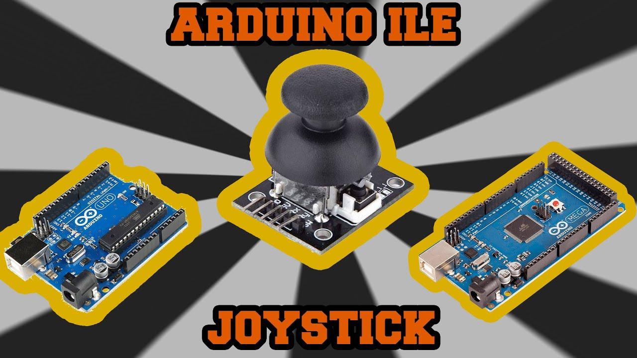 Joystick modülü arduino İle nasıl kullanılır youtube