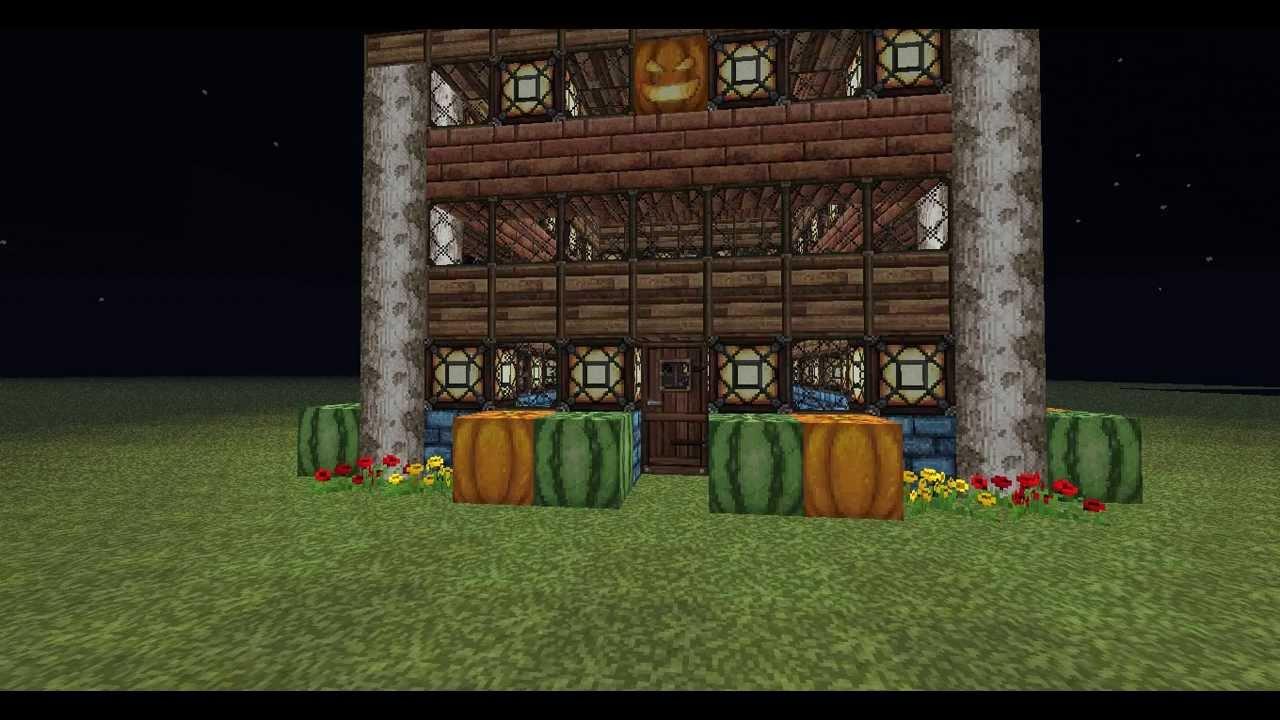Minecraft bouw idee 2 mijn mooie luxe huis d youtube - Huis idee ...