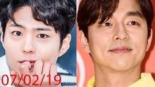 """190207 Park Bogum & Gong Yoo Possibility in One Movie """"Seo-Bok""""."""
