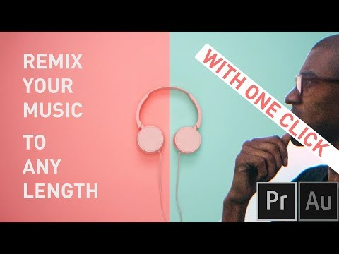 How to Automatically Change your Music to Any Length! Video Editing Tutorial