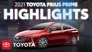 homepage tile video photo for 2021 Prius Prime Overview & Highlights | Toyota