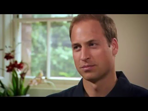 Prince William talks about Diana