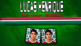 Lucas Henrique   Lucas Henrique dos Santos   Meio Campo   www.golmaisgol.com.br   PROMANAGER