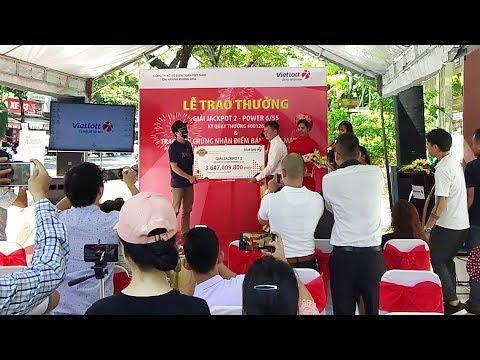 lễ trao giải Vietlott 6/55 Jackpot 2 tại Đà Nẵng