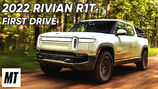 homepage tile video photo for 2022 Rivian R1T First Drive | MotorTrend