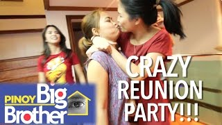 PBB 7 Reunion Gets Out of Control! (PARTY SA MANSION NI ALI FORBES)