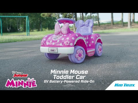 Minnie Mouse Toddler Ride-on Car