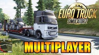 Euro Truck 2 ONLINE: Primeira Viagem! Falando sobre o MULTIPLAYER [ETS 2MP]