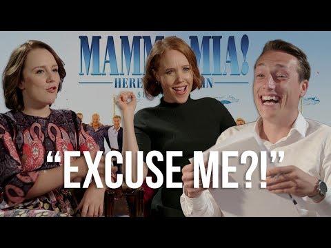 GOSSIP GAME ft. Mamma Mia 2! ACTORS