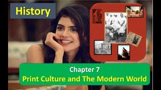 Print Culture and The Modern World Chapter 7 Class 10 NCERT History 3