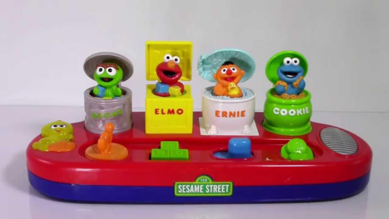 Sesame Street Pop Up Toys 13