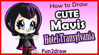 How to Draw Cute Mavis Vampire Girl - Hotel Transylvania + Fun Facts - Fun2draw(How to Draw Cute Mavis Vampire Girl - Hotel Transylvania + Fun Facts - Fun2draw. Learn how to draw Easy cute Halloween things, cartoons & pictures step by ..., 2015-09-24T18:00:00.000Z)