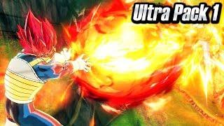 NEW ULTRA PACK 1 DLC REVEAL! Dragon Ball Xenoverse 2 God Vegeta Gameplay Screenshots (DLC Pack 9)