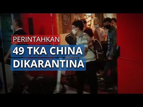 Khawatir dengan Virus Corona, Gubernur Sultra Perintahkan Karantina 49 TKA China di Kendari