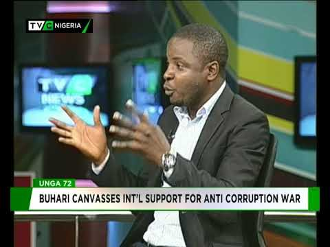 Ayoola Abiodun shares his thoughts on Buhari's call for international support to fight corruption
