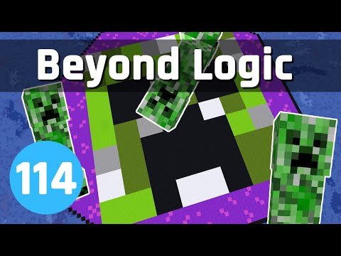 Improving the Creeper Farm - Beyond Logic #114 (Let's Play) | Minecraft 1.15