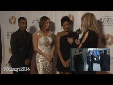 Emmys 2014: Tamron Hall, Larenz Tate, Ginger Zee Interview