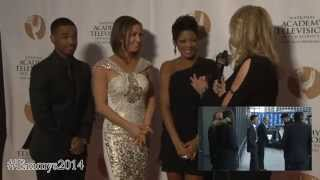 Emmys 2014: Tamron Hall, Larenz Tate, Ginger Zee Interview