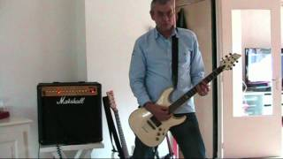 The Ramones - Carbona Not Glue (remake guitar cover)