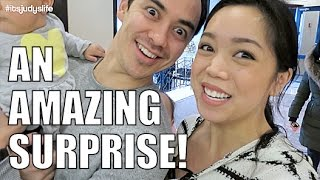 An Amazing Surprise!- February 15, 2015 ItsJudysLife Vlogs