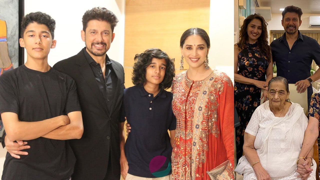 Download Madhuri Dixit Family Members with Husband, Sons, Father, Mother & Biography