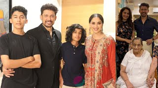 Madhuri Dixit Family Members with Husband, Sons, Father, Mother & Biography