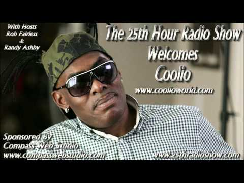 "Coolio - Grammy Award Winning Rap Artist - Actor - Author ""Cookin' With Coolio"""