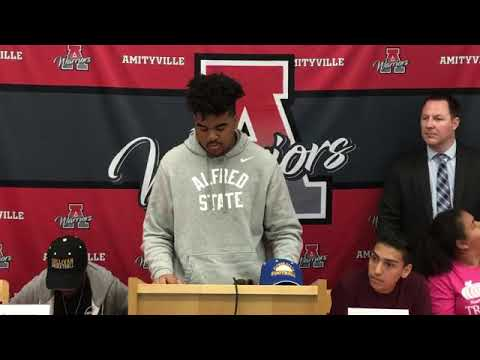 Amityville Memorial High School Sports Signing Day 2019