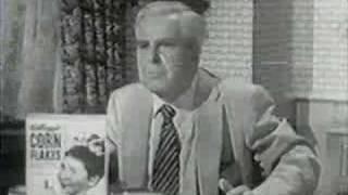 Kelloggs Corn Flakes with Superman & Perry White