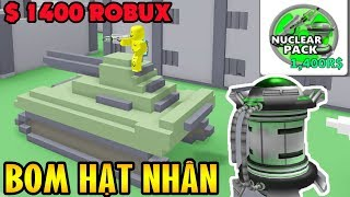 Roblox💥Destruction Simulator   Destroy everything By 1400 Robux Weapons   MinhMaMa