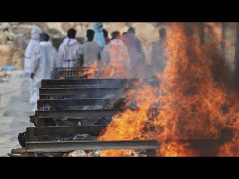 شاهد: صورٌ مرعبة لتداعيات الكارثة الوبائية التي تضرب الهند…  - 06:57-2021 / 5 / 6