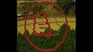 Entlang die Grenze DDR BRD mauer 1986