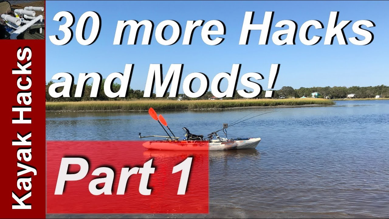 Fishing Kayak Setup Ideas Part 1of 30 More Kayak Modifications For Fishing Youtube