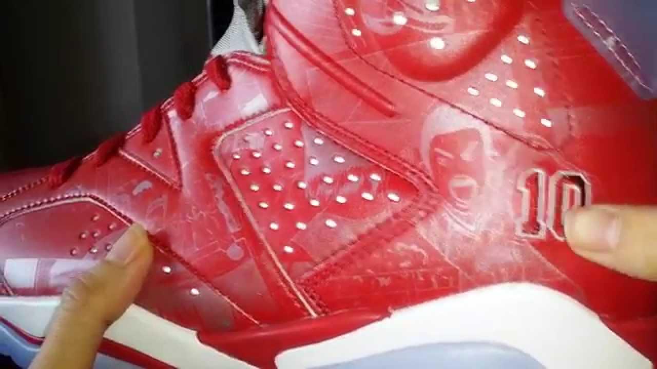 on sale 00526 7e35f Air Jordan 6 Slam Dunk 3M Reflective Affect Review