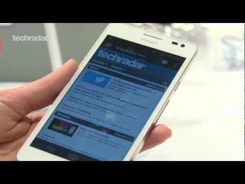 Hands on: Huawei Ascend D2 - CES 2013