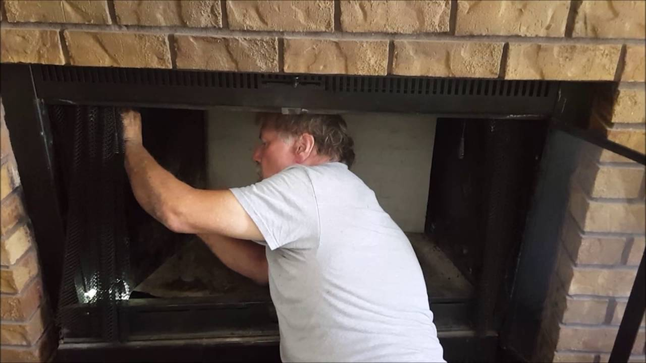 replacing refractory panels youtube